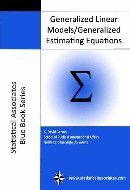 Generalized linear models (GZLM) and generalized estimating